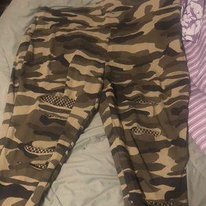 Camo leggings torrid